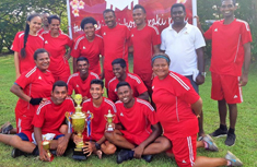 tanoa rakiraki hotel staff at a company sports day